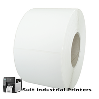 102mm X 150mm Direct Thermal Labels LD102150-4 -To suit Industrial Printers- from Barcodes.com.au