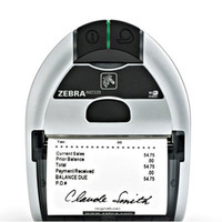 Zebra iMZ 320 Mobile Printer-Front view-from barcodes.com.au