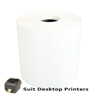 85mm X 80mm Direct Thermal Labels LD8580-0.5A -To suit Desktop Printers- from Barcodes.com.au
