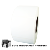 85mm X 80mm Direct Thermal Labels LD8580-1.5 -To suit Industrial Printers-from Barcodes.com.au