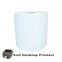 102mm X 99mm Direct Thermal Labels LD10299-4A -To suit Dekstop Printers- from Barcodes.com.au