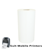 102mm X 150mm Direct Thermal Labels LD102150-4AA -To suit Mobile Printers-from Barcodes.com.au