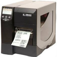 Zebra ZM400 Thermal Label Printer -Side view- from Barcodes.com.au