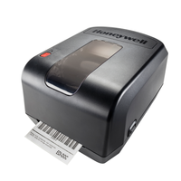 Honeywell Thermal Transfer  Printer -Side view- from Barcodes.com.au