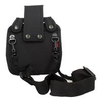 Zebra RW420 holster w/belt loop and strap (AK18661-1)-with strap -From barcodes.com.au