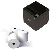 POS Bundle 5- Epson TM-M30 Printer + 80mmX80mm Receipt Rolls - from barcodes.com.au