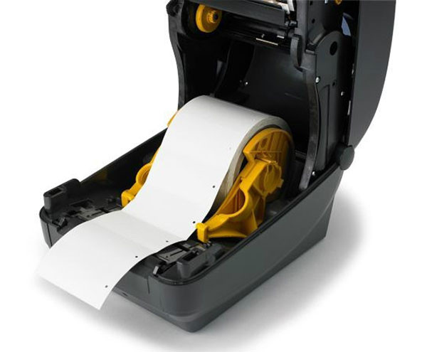 Zebra GK420 Direct thermal desktop printer-interior-Barcodes.com.au