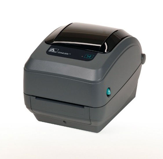 Zebra GK430 Direct thermal desktop printer-Barcodes.com.au
