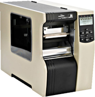 Zebra 110xi4 Industrial Label Printer -Side view- from Barcodes.com.au