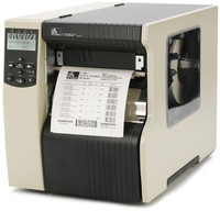 Zebra 170xi4 Industrial Label Printer -Side view- from Barcodes.com.au