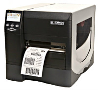Zebra ZM600 Label Printer -Side view- from Barcodes.com.au