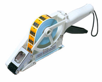 Towa APN-30 Label Applicator -Side view- from Barcodes.com.au