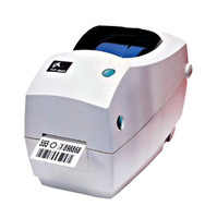 Zebra TLP2824 Plus Thermal Transfer Label Printer -Side view- from Barcodes.com.au