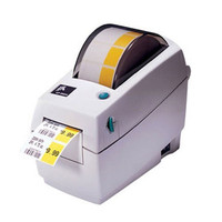Zebra LP2824 Plus Direct Thermal Label Printer -Side view- from Barcodes.com.au