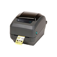 Zebra GK420T Thermal Transfer Label Printer -Side view- from Barcodes.com.au