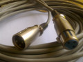2M XLR MALE - FEMALE CABLE