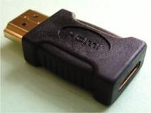 Male HDMI to female mini HDMI adaptor