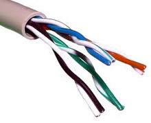 UTP solid CAT5 cable