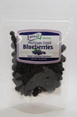 Our 3 ounce Michigan Dried Blueberries are made using only the finest blueberries from True Blue Farms. They are gluten free and contain no artificial colors or preservatives. Packaged in resealable plastic pouch and is perfect for snacking.