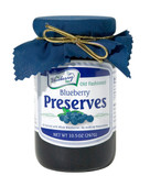 Our very own Blueberry Preserves are all-natural, bursting with whole blueberries, and taste simply amazing. This product is in an individual 10.5oz glass jar with re-closable lid.