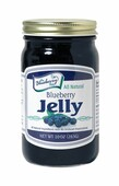 A family favorite, The Blueberry Store's 10 ounce Blueberry Jelly is all natural and made with premium ingredients and tastes amazing! Packaged in glass jar with re-closable lid.
