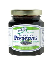 Blueberry Lime Preserves 8oz.