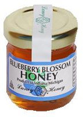 1.5oz. Blueberry Blossom Honey Jar