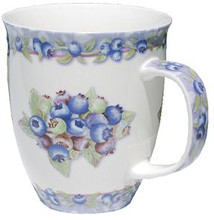 White Harbor Mug with Blueberries