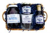 Blueberries Divine Basket