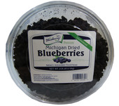 Our Unsweetened Dried Blueberries contain only one ingredient... Blueberries!  This 1 pound pouch is resealable for easy snacking and storage.