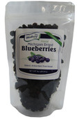 Our Unsweetened Dried Blueberries contain only one ingredient... Blueberries! This 3 ounce plastic bag is perfect for on the go snacking and is resealable.