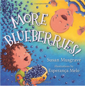 More Blueberries! (Board Story Book)