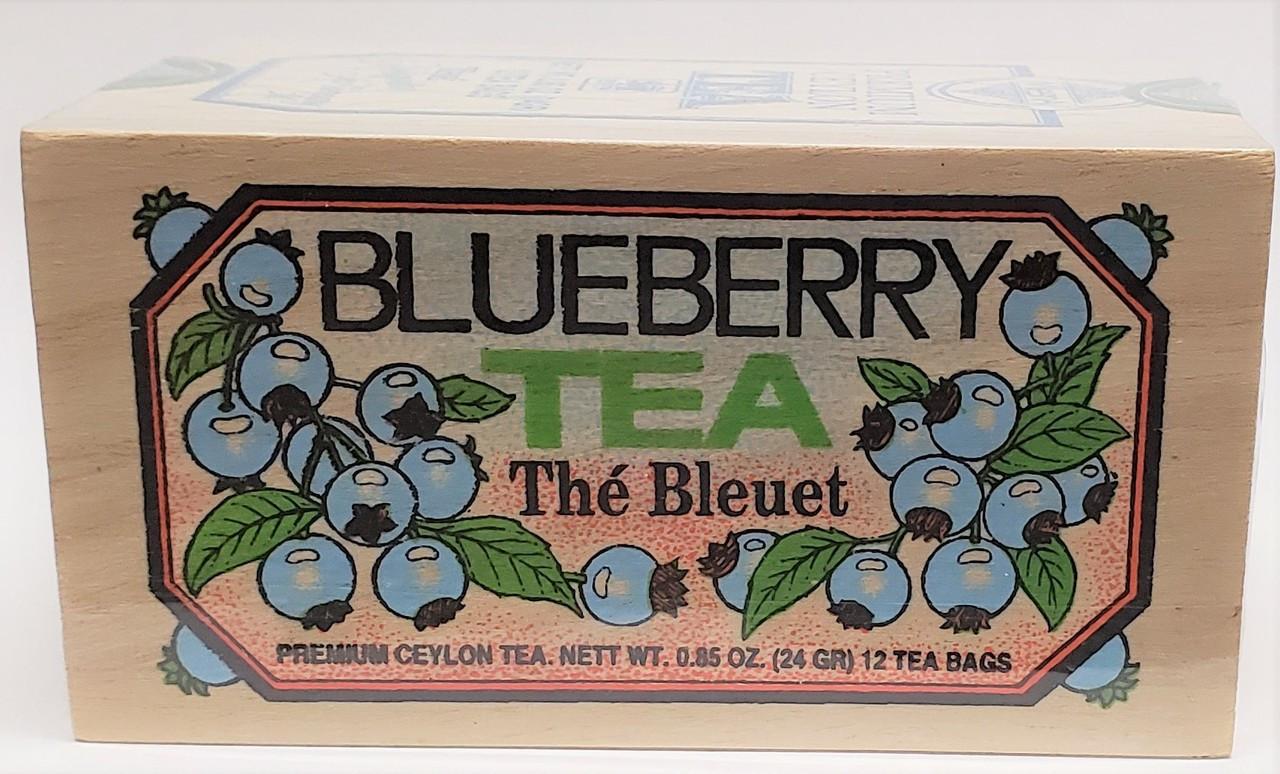 Blueberry Tea in Tin 12ct  Tin