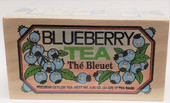 Warm, comforting, and delicious. Try this premium blueberry tea. Each wooden box contains 12 tea bags with string and tag.