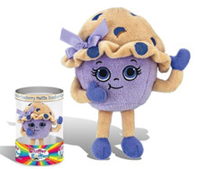 Missy Muffintop is a blueberry muffin scented plush