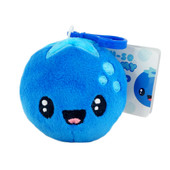 "Fruit Troop Blueberry Backpack Buddy – This is a scented stuffed plush that comes attached with a backpack clip. Each Backpack Buddy is filled with super soft stuffing and gourmet scented beads. Scent lasts approximately 2 years. Dimensions: 3.5"" × 3.5"" × 2"""