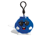 Billy Bluesberry Squisher is a blueberry scented squishee toy. Approximately  3 inches tall.