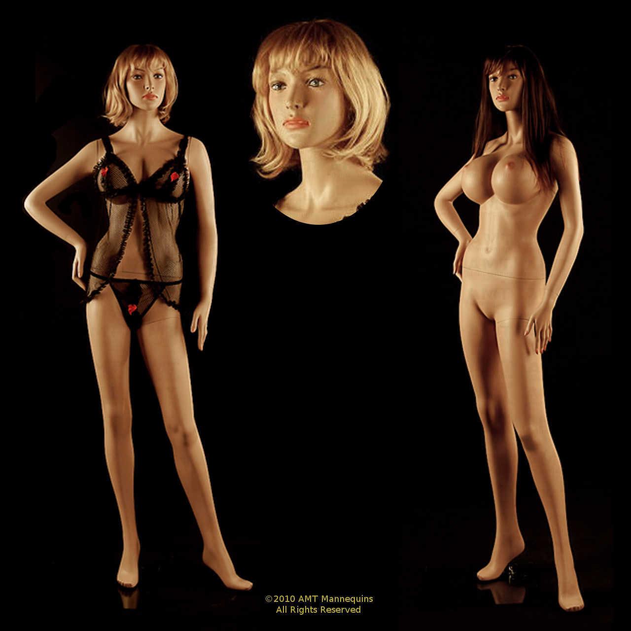 Sexy female mannequin