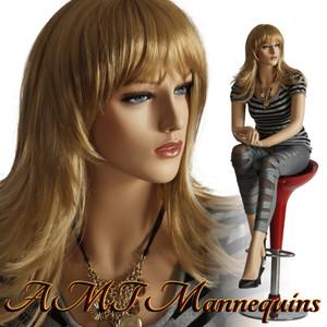 Mannequin Female Sitting Model Liz
