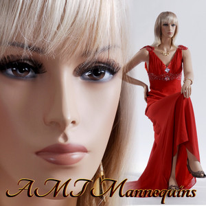 Mannequin Female Sitting Hand made manikin- Emily