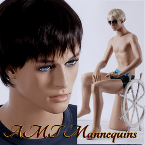 Mannequin Male Sitting Model Roger