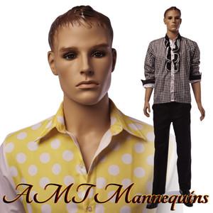 Mannequin Male Standing Model Greg (Plastic)