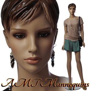 Mannequin Female Standing Model Zoe (Plastic)(1)