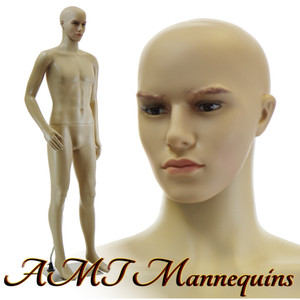 Mannequin Male Standing Model Al (head bent arm) (Plastic)