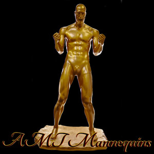 Mannequin Male Standing Model Sam (Gold)