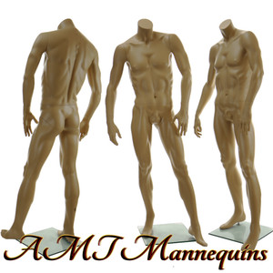 Mannequin Male Standing Model David (Headless)