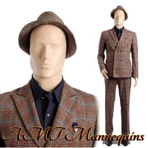Mannequin Male Standing Model Al (Skin Egghead) (Plastic)