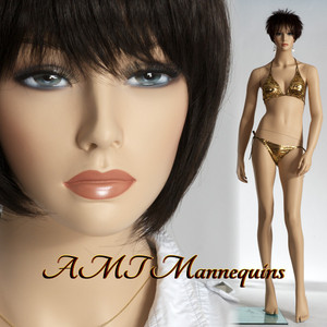 Mannequin Female Adult Standing Model Cam