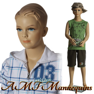 Mannequin Male Standing Child Model Ted