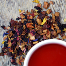 February Feature: Pretty in Pink Herbal Tea